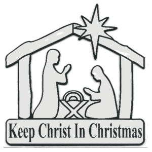 Keep Christ in Christmas Design