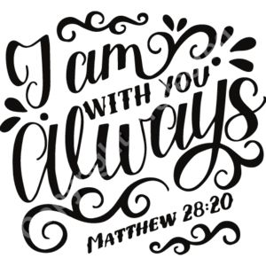 Matthew 28:20 I am with you always Thumbnail